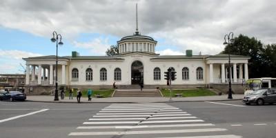 Вокзал станции Павловск