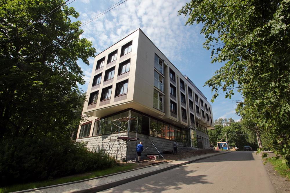 Зеленогорск, гостиница на Приморском шоссе, 551