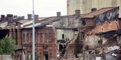 Демонтаж на Боровой улице