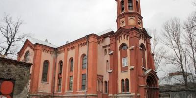 Костел на Минеральной улице