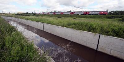 Новый канал реки Пулковки