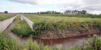 Новый канал реки Пулковки, трасса