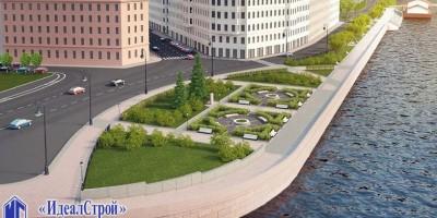 Проект благоустройства Мытнинской набережной