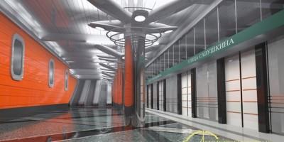 Проект станции Беговая