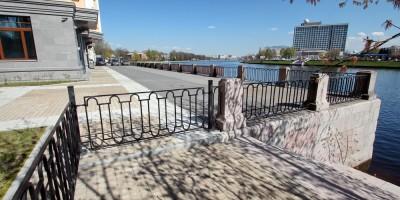 Незаконное ограждение берега Малой Невки уберут в 2017 году