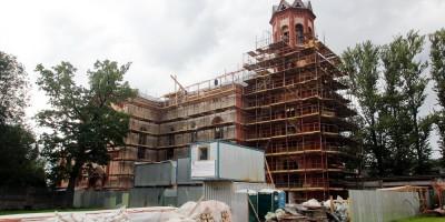 Реставрация костела на Минеральной улице, 21