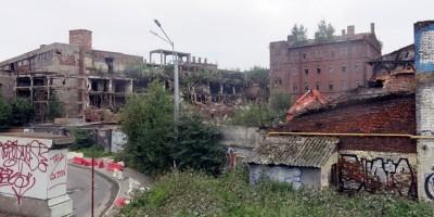 Снос на заводе на Лиговском