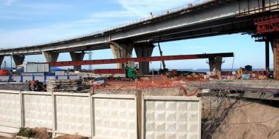Строительство Яхтенного моста, ЗСД