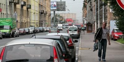 Улица Константина Заслонова, пешеход