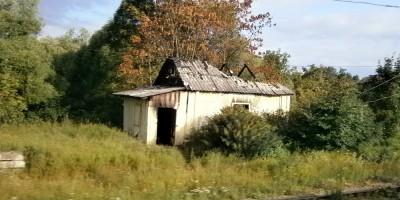 Заброшенный дом в Красном Селе