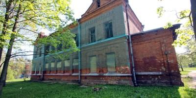 Жилой дом Ремесленного женского приюта на Набережной улице, 3, в Пушкине