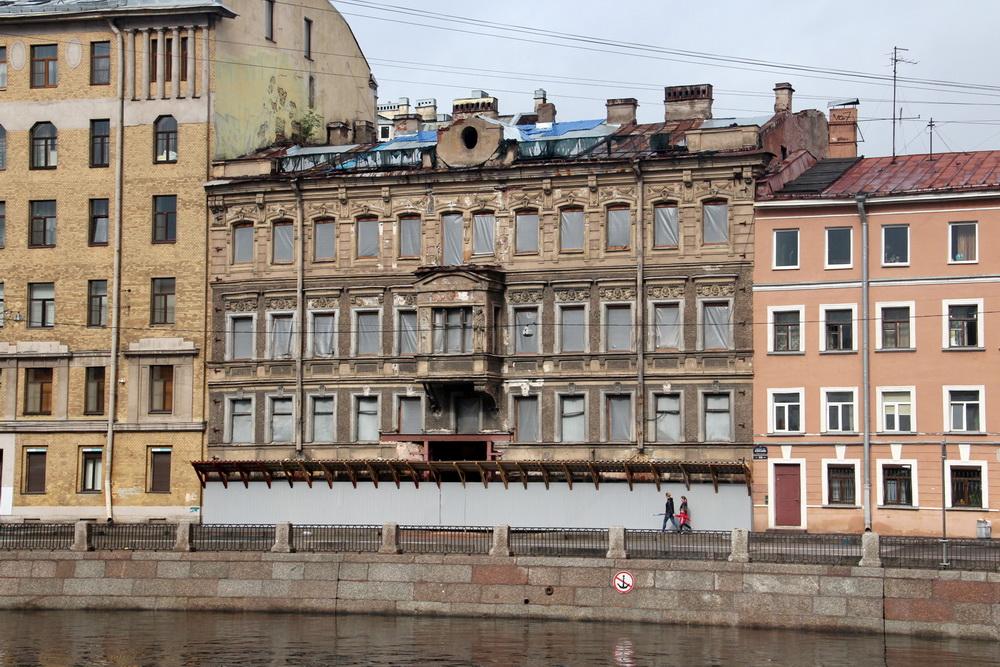 Дом Шагина на Фонтанке