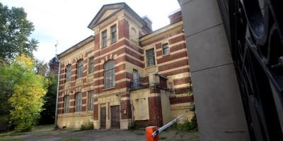Городской дом двух начальных училищ имени Боткина, дворовый фасад