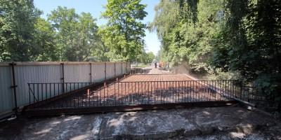 Мост через Чухонку, реконструкция