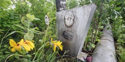 Пулковское шоссе, мемориал упавшему самолету Ил-18, кенотаф