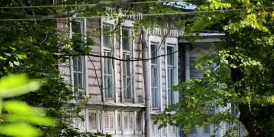 Пушкин, дом Данини на Павловском шоссе, фасад