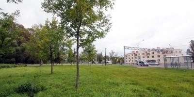 Стрельна, Санкт-Петербургское шоссе, сквер