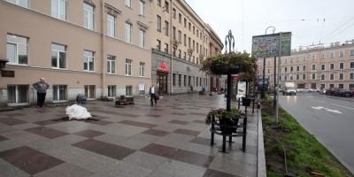 Технологический институт, тротуар, мощение
