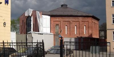 Улица Черняховского, газгольдер, реконструкция