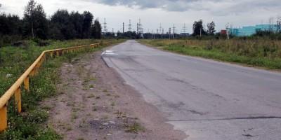 Усть-Ижорское шоссе, безымянная дорога