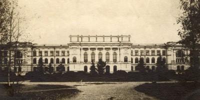 Исторический вид на здание Политеха