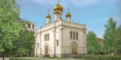 Церковь Преображения Господня на Инструментальной улице, 3а, проект