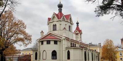 Церковь Спиридона Тримифунтского, задний фасад