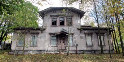 Деревянный дом управляющего нефтеперегонной фирмой Ропс и ко на Петровской косе, 9