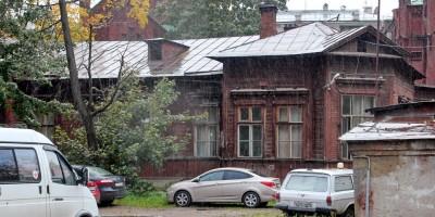 Деревянный корпус Евангелической женской больницы на Лиговском