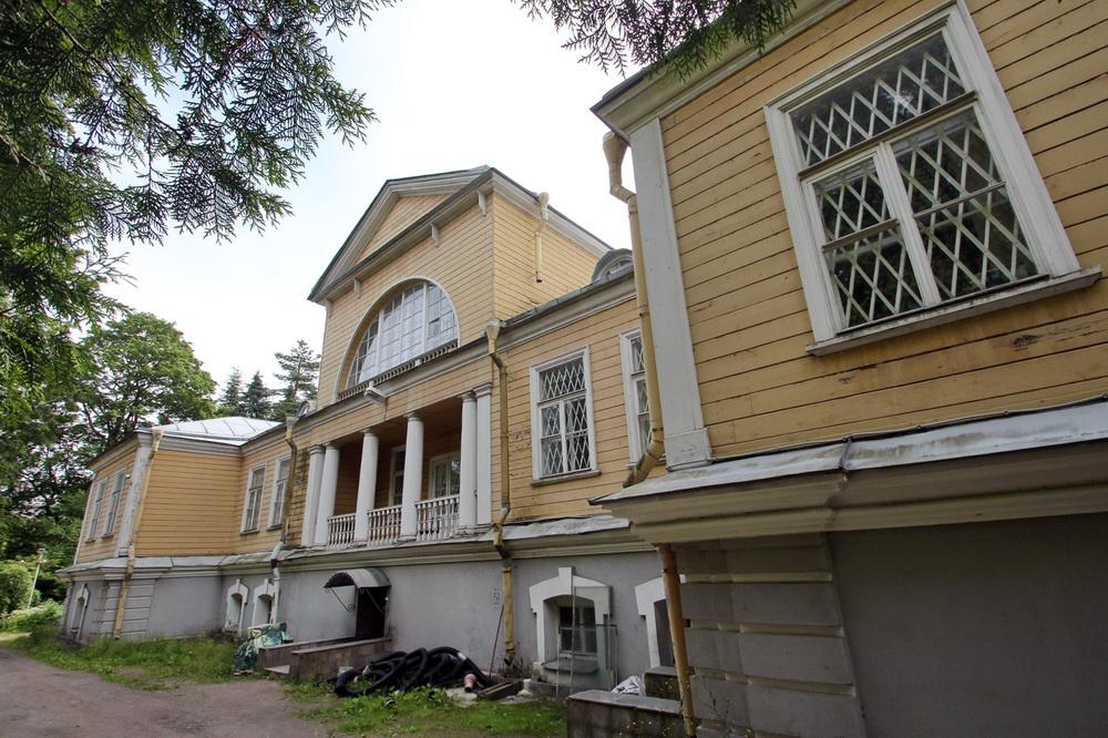 Дом директора Ботанического сада