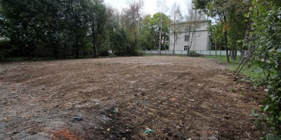 Красное Село, улица Лермонтова, 17, после сноса