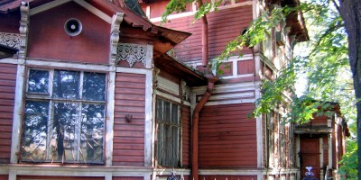 Красногвардейский переулок, 23, деревянный корпус