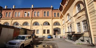 Мастерские дирекции императорских театров в переулке Матвеева, 3