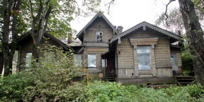 Парголово, дом Шапошниковой на улице Ломоносова, 80
