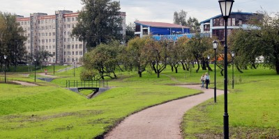 Парк Куракина Дача, фонари