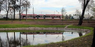 Парк Куракина Дача, пруд