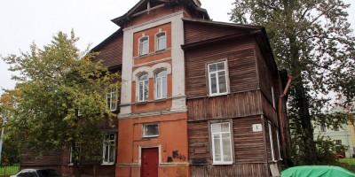 Переулок Ногина, 1, дом причта Смоленской церкви