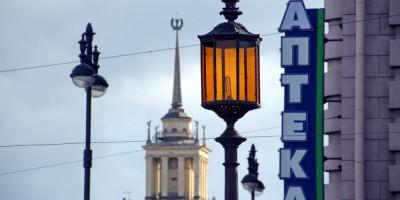 Площадь Чернышевского, фонарь