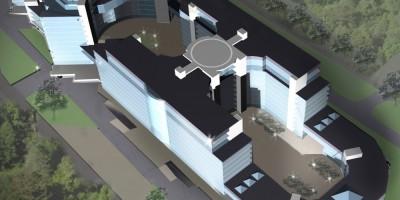 Проект нейрохирургического института на Заповедной улице