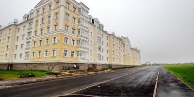 Пушкин, Анциферовская улица, южный проезд