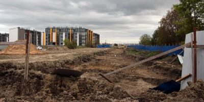 Пушкин, строительство Камероновской улицы