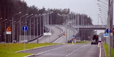 Репино, Зеленогорское шоссе, путепровод