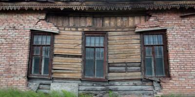 Рябовское шоссе, 121, корпус 1, деревянный фрагмент