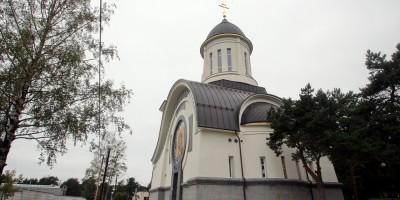 Сестрорецк, церковь Ксении Блаженной, задний фасад