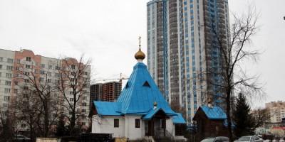 Шушары, церковь Ксении Блаженной