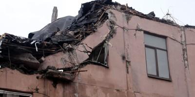 Снос на Большом Сампсониевском проспекте, после обрушения