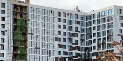 Улица Вадима Шефнера, жилые дома, фасад