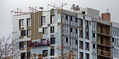 Улица Вадима Шефнера, жилые дома, отделка