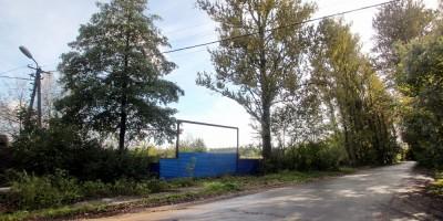 Заповедная улица, стройплощадка Нейрохирургического института