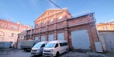 Здание склада дирекции императорских театров в переулке Матвеева, 3